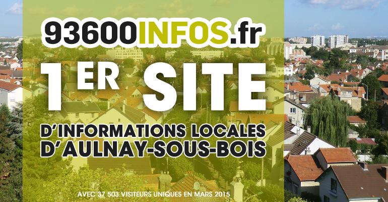 Pour la 1ère fois, 93600INFOS.fr est devenu le 1er site d'informations locales en terme d'audience.   (C) 93600INFOS