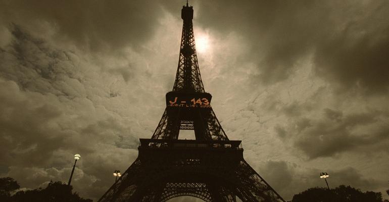 Même si le phénomène est rare, il ne sera pas aussi impressionnant que l'éclipse totale survenue en 1999 à Paris. | (C) Thomas Coex / AFP