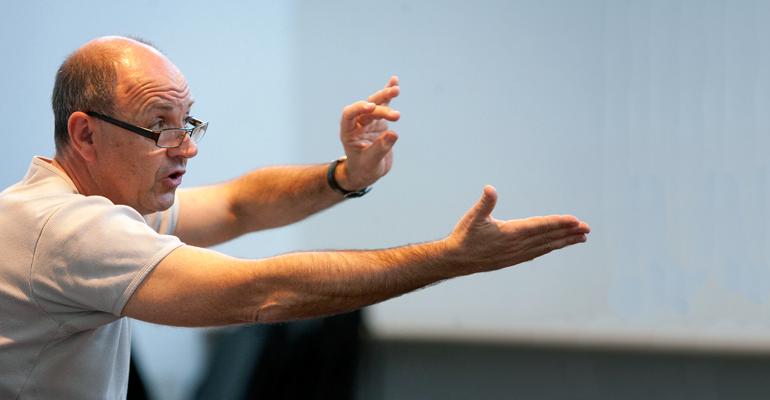 Didier Grojsman a fondé le CREA d'Aulnay-sous-Bois en 1987. | (C) S. Chivet
