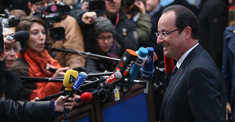 François Hollande repart à la conquête des banlieues. | (C) Présidence de la République / P.Segrette