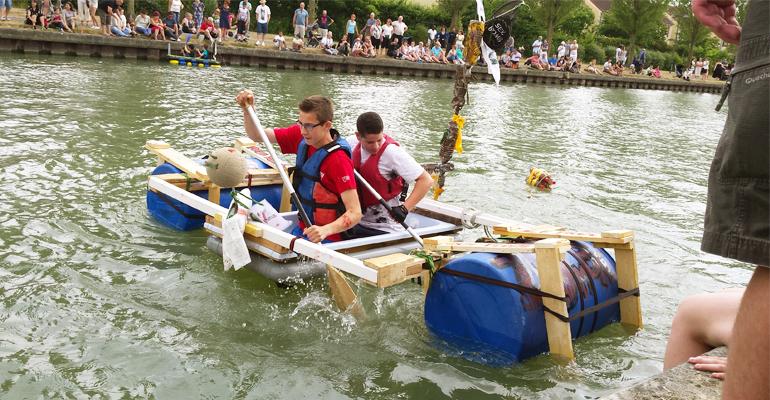 Les activités nautiques commencent ce mardi sur le canal de l'Ourcq.   (C) 93600INFOS / Alexandre Conan