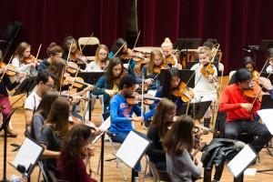 L'orchestre jeune du CRD d'Aulnay-sous-Bois en pleine répétition.   © Alexandre Gallosi/Mairie d'Aulnay-sous-Bois
