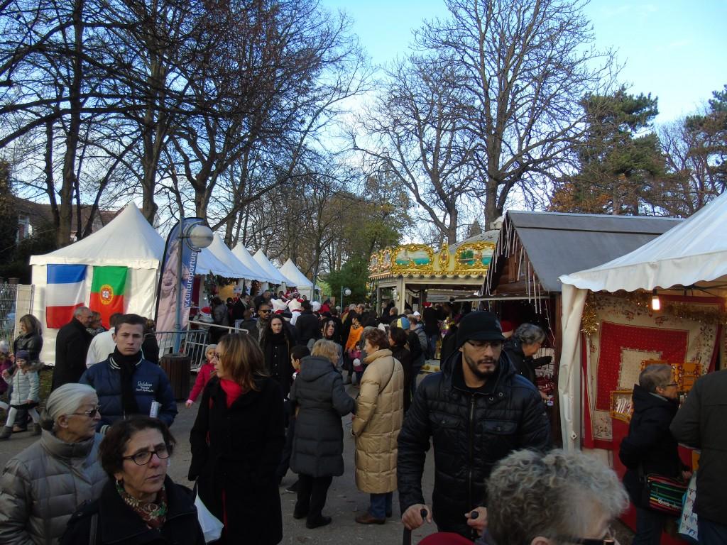 La 1ère édition du marché de Noël l'an dernier avait été un franc succès. | © 93600INFOS.fr / Alexandre Conan