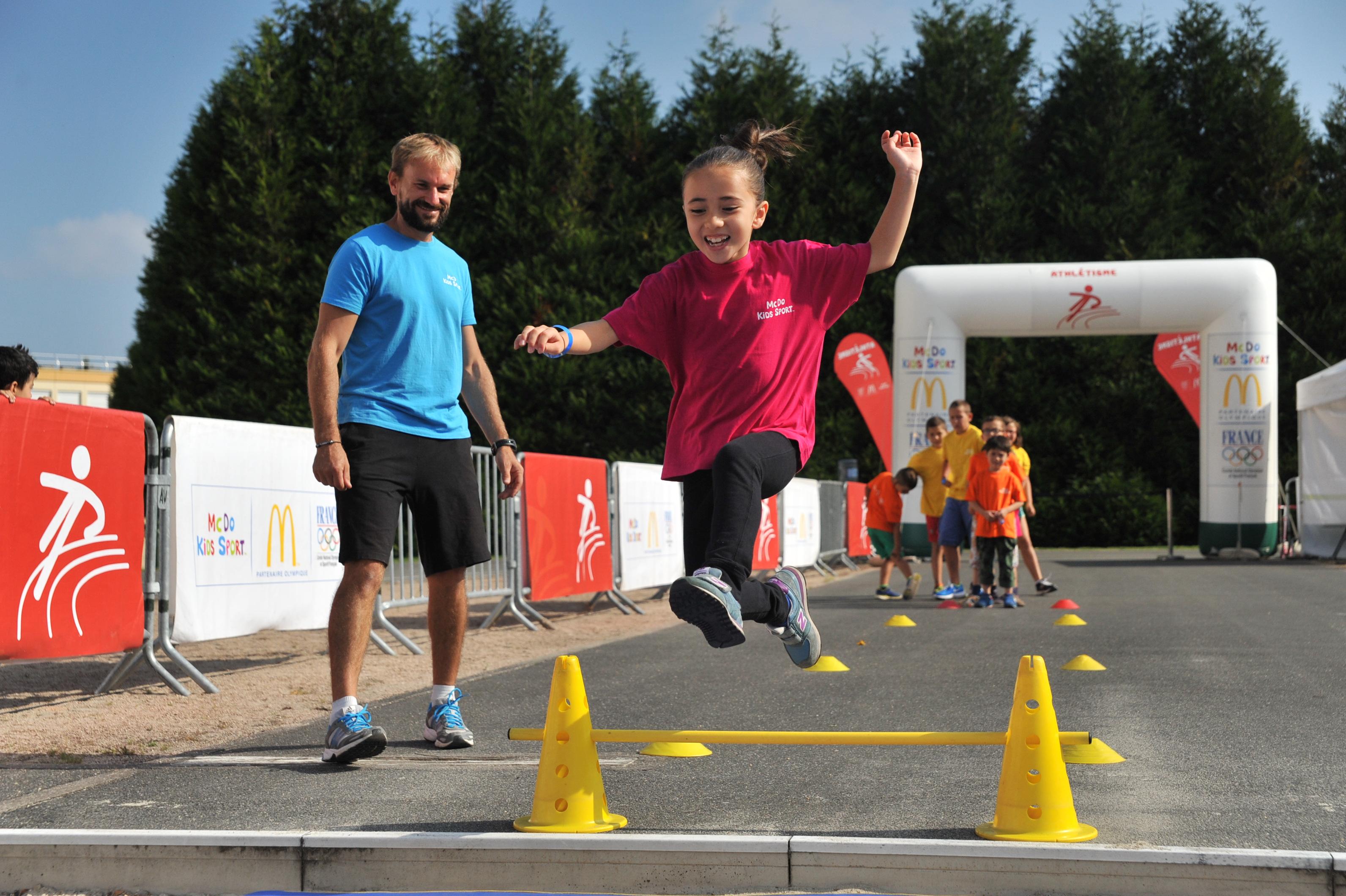 "Aulnay-sous-Bois accueille le village ""McDo Kids Sport"" ce mercredi.   &Copy; CDOS Morbihan"