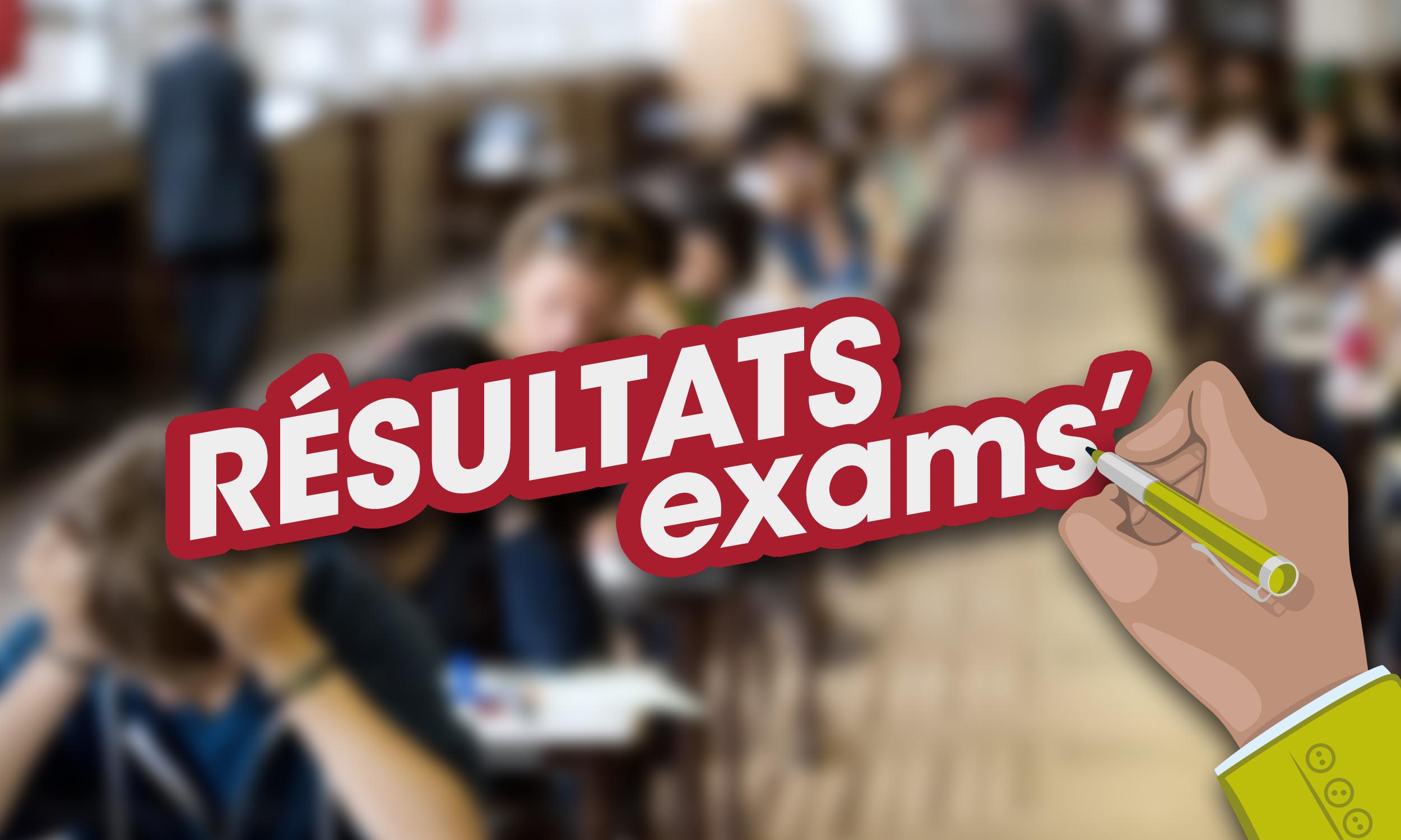 résultats exams